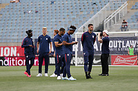 Chester, PA - Monday May 28, 2018: USMNT during an international friendly match between the men's national teams of the United States (USA) and Bolivia (BOL) at Talen Energy Stadium.