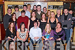 KEY OF THE DOOR: Liam Galvin, Asdee (seated centre), celebrated his 21st birthday with family and friends in The Jessie James Tavern, Asdee on Saturday night.   Copyright Kerry's Eye 2008