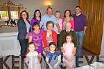 Anne and Mike Dore (Seated centre) pictured here on Sunday at the Devon Inn Hotel, celebrating their 50th wedding anniversary with their family.