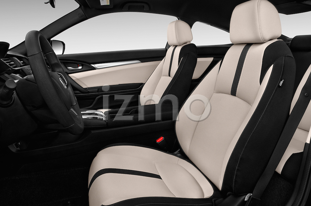 Front seat view of 2016 Honda Civic LX 3 Door Coupe Front Seat  car photos
