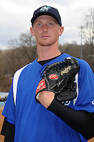 Asheville Tourists pitcher Eddie Butler #30 during media day at McCormick Field on April 1, 2013 in Asheville, North Carolina. (Tony Farlow/Four Seam Images).