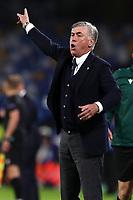 Carlo Ancelotti coach of SSC Napoli <br /> Napoli 05-11-2019 Stadio San Paolo <br /> Football Champions League 2019/2020 Group E<br /> SSC Napoli - FC Salzburg<br /> Photo Cesare Purini / Insidefoto