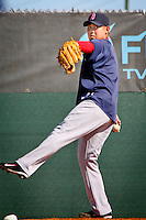 Pitcher Daisuke Matsuzaka. Boston Red Sox return for spring training, Fort Myers, Florida, USA, Feb. 13, 2011. Photo by Debi Pittman Wilkey