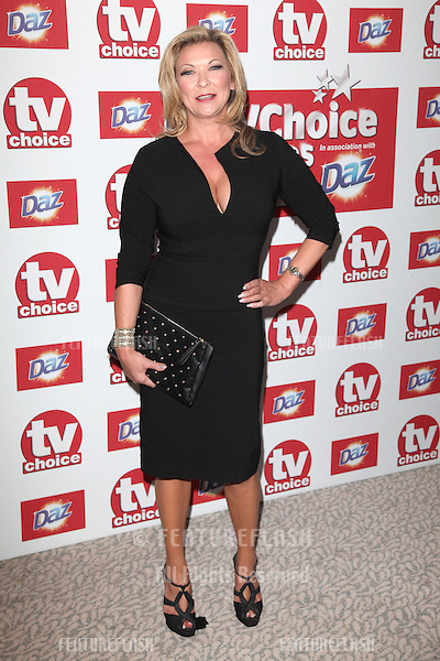 Claire King arriving for the 2012 TVChoice Awards, at the Dorchester Hotel, London. 10/09/2012. Picture by:  Alexandra Glen / Featureflash