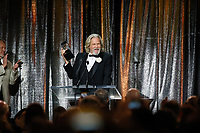 ASC Board of Governors Award honoree Jeff Bridges accepts his award at the 33rd annual ASC Awards and The American Society of Cinematographers 100th Anniversary Celebration at the Ray Dolby Ballroom at Hollywood &amp; Highland, Saturday, February 9, 2019 in Hollywood, California.  <br /> CAP/MPI/IS<br /> &copy;IS/MPI/Capital Pictures