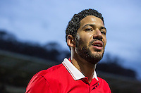 Jobi McAnuff of Leyton Orient during the Sky Bet League 2 match between Wycombe Wanderers and Leyton Orient at Adams Park, High Wycombe, England on 23 January 2016. Photo by Massimo Martino / PRiME Media Images.