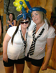 Sophie O'Halloran and Emma McGuirk at the St Trinian's Fancy Dress Night in Shooters..Photo NEWSFILE/Jenny Matthews.(Photo credit should read Jenny Matthews/NEWSFILE)....This Picture has been sent you under the condtions enclosed by:.Newsfile Ltd..The Studio,.Millmount Abbey,.Drogheda,.Co Meath..Ireland..Tel: +353(0)41-9871240.Fax: +353(0)41-9871260.GSM: +353(0)86-2500958.email: pictures@newsfile.ie.www.newsfile.ie.FTP: 193.120.102.198.