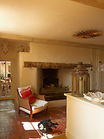 Although the facade of the house is Victorian, there are parts that are far older, such as this fireplace which dates back to the 12th century