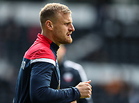 Bolton Wanderers' David Wheater pictured before the match <br /> <br /> Photographer Andrew Kearns/CameraSport<br /> <br /> The EFL Sky Bet Championship - Derby County v Bolton Wanderers - Saturday 13th April 2019 - Pride Park - Derby<br /> <br /> World Copyright &copy; 2019 CameraSport. All rights reserved. 43 Linden Ave. Countesthorpe. Leicester. England. LE8 5PG - Tel: +44 (0) 116 277 4147 - admin@camerasport.com - www.camerasport.com
