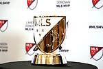 ATLANTA, GA - DECEMBER 05: Landon Donovan MLS MVP Award. The 2018 MLS MVP Presentation was held on December 5, 2018 at the Arthur Blank Family Center in Atlanta, GA.