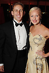 Brett Hanson and duchess Carolyn Scruggs at the San Luis Salute to Mardi Gras in Galveston Friday Feb. 13,2015.(Dave Rossman Photo)