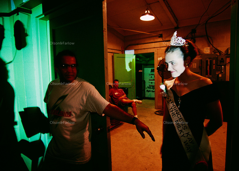 The Minnesota State Fair's outgoing Princess Kay of the Milky Way, Kimberly Mallory, has a more-than-sash-deep connection to the state's 600,000 dairy cows. Only daughters whose parents operate dairy farms, or work on them, are eligible to become county, then regional, dairy princesses.