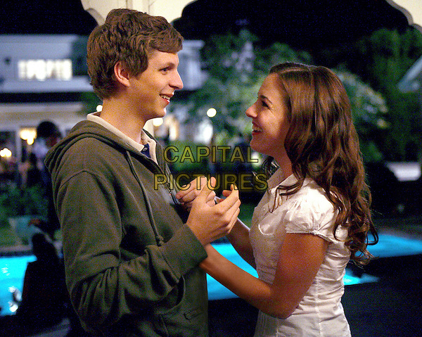 Michael Cera & Martha MacIsaac.in Superbad.*Filmstill - Editorial Use Only*.CAP/NFS.Supplied by Capital Pictures.