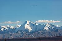 Mt. mather, Alaska Range mountains, Denali National Park, Interior, Alaska