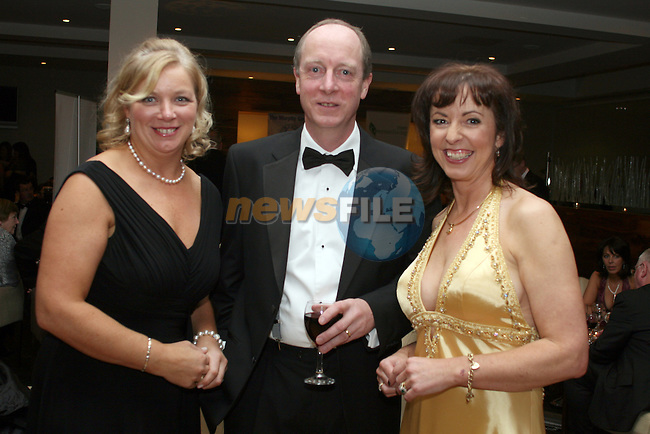 Geraldine and Richard Bowden, Beamore Business Centre with Orlaith Carmody-Duffy, Aerga Production at the Drogheda Chamber of Commerce Business Excellence Awards in the City North Hotel...Photo NEWSFILE/Jenny Matthews.(Photo credit should read Jenny Matthews/NEWSFILE)....This Picture has been sent you under the condtions enclosed by:.Newsfile Ltd..The Studio,.Millmount Abbey,.Drogheda,.Co Meath..Ireland..Tel: +353(0)41-9871240.Fax: +353(0)41-9871260.GSM: +353(0)86-2500958.email: pictures@newsfile.ie.www.newsfile.ie.FTP: 193.120.102.198.