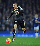 Jamie Vardy of Leicester City<br /> - Barclays Premier League - Everton vs Leicester City - Goodison Park - Liverpool - England - 19th December 2015 - Pic Robin Parker/Sportimage