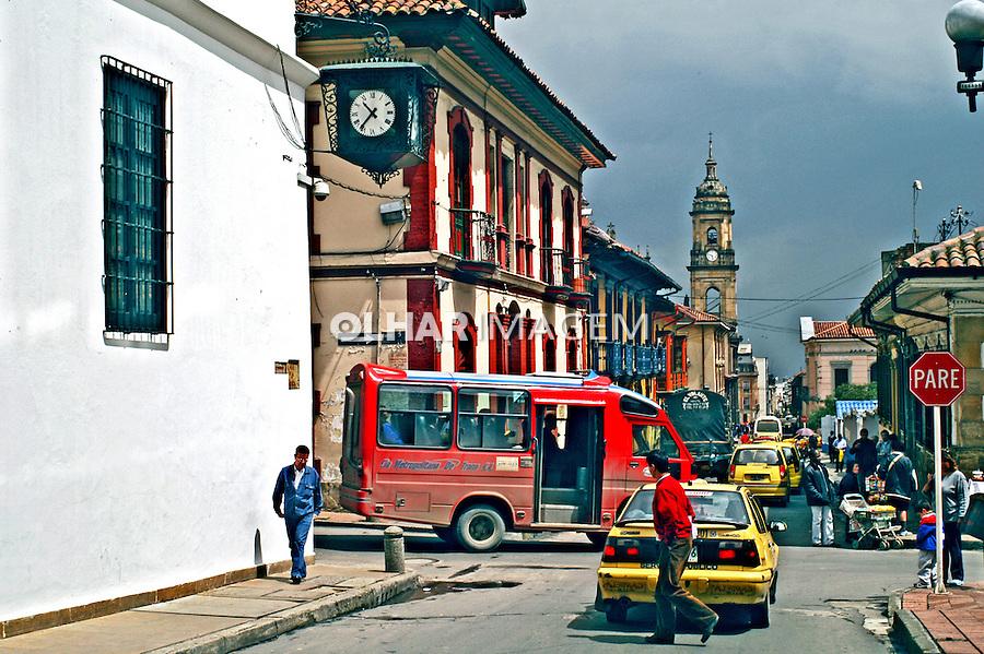 Centro histórico em Bogotá. Colombia. 2004. Foto de Ricardo Azoury.