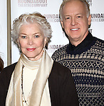 Ellen Burstyn & Reed Birney attending the Meet & Greet for the Roundabout Theatre Company's 'Picnic' at their rehearsal studios  in New York City. November 29, 2012.