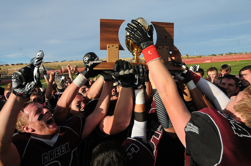 December 01, 2012 - Colorado 3A Football Championship Game - Rifle vs Silver Creek