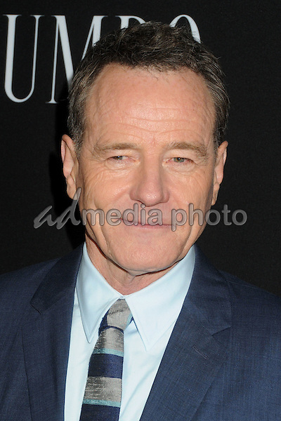 "27 October 2015 - Beverly Hills, California - Bryan Cranston. ""Trumbo"" Los Angeles Premiere held at the AMPAS Samuel Goldwyn Theater. Photo Credit: Byron Purvis/AdMedia"