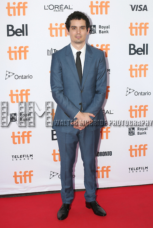 Damien Chazelle attends the 'La La Land' Premiere during the 2016 Toronto International Film Festival at Princess of Wales Theatre on September 12, 2016 in Toronto, Canada.