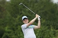 Lucas Lyons (Limerick) during the Connacht U14 Boys Amateur Open, Ballinasloe Golf Club, Ballinasloe, Galway,  Ireland. 10/07/2019<br /> Picture: Golffile | Fran Caffrey<br /> <br /> <br /> All photo usage must carry mandatory copyright credit (© Golffile | Fran Caffrey)