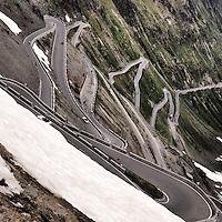 Passo dello Stelvio, Alps, Italy.