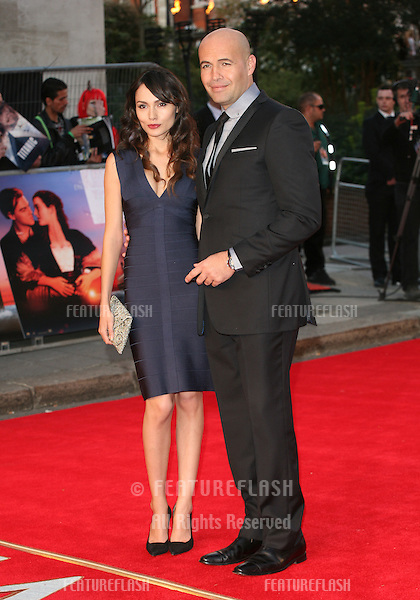 Billy Zane and Jasmina Hdagha arriving for the Titanic 3D film premiere, Royal Albert Hall, London. 27/03/2012 Picture by: Alexandra Glen / Featureflash