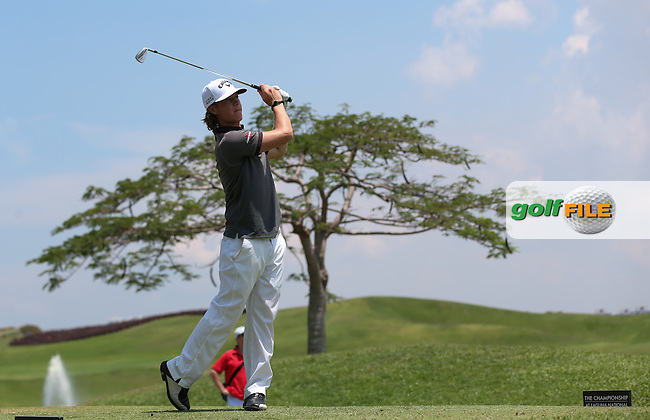Kristoffer Broberg (SWE) carded a 68 and T17 during the Final Round of the The Championship 2014 from the Laguna National Golf & Country Club, Tampines, Singapore. Picture:  David Lloyd / www.golffile.ie