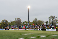 Allston, MA - Saturday, May 07, 2016: Jordan Field during a regular season National Women's Soccer League (NWSL) match at Jordan Field.