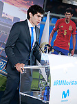 Real Madrid's new player Jesus Vallejo during his official presentation. July 7, 2017. (ALTERPHOTOS/Acero)