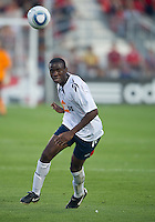 July 21, 2010  Bolton Wanderer Fabrice Muamba No. 6 in action during the Carlsberg Cup match between the Bolton Wanderers FC and Toronto FC at BMO Field in Toronto..Th Bolton Wanderrs FC won 4-3 on penalty kicks.