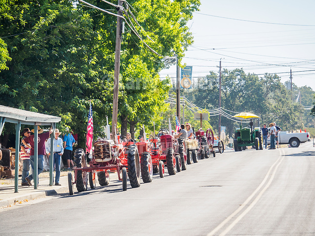 Opening day kids parade on Main Street and ribbon cutting to open the 79th Amador County Fair, Plymouth, Calif.<br /> <br /> <br /> #AmadorCountyFair, #PlymouthCalifornia,<br /> #TourAmador, #VisitAmador