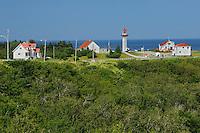 Phare (lighthouse) de la Riviere Madeleine<br /> Cap de la  Madeleine<br /> Quebec<br /> Canada