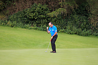 Paschal Hayes (Lisselan) on the 5th during the AIG Jimmy Bruen Shield Final between Lisselan &amp; Waterford in the AIG Cups &amp; Shields at Carton House on Saturday 20th September 2014.<br /> Picture:  Thos Caffrey / www.golffile.ie