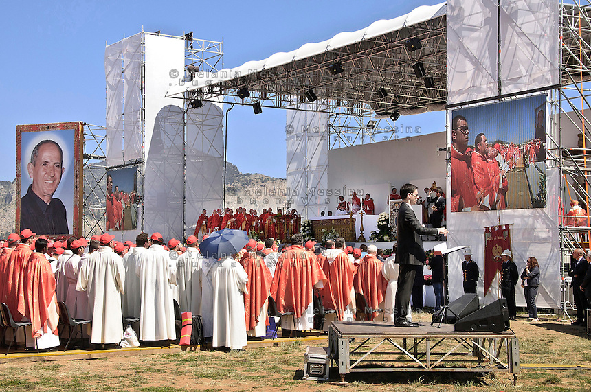 Palermo, beatificazione di padre Puglisi.<br /> Palermo,Beatification of Father Puglisi