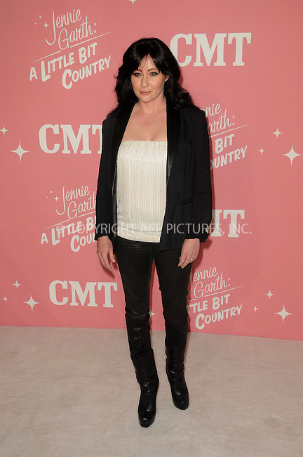 WWW.ACEPIXS.COM . . . . .  ....April 19 2012, LA....Shannen Doherty arriving at Jennie Garth's 40th birthday celebration & premiere party for 'Jennie Garth: A Little Bit Country' at The London Hotel on April 19, 2012 in West Hollywood, California.....Please byline: PETER WEST - ACE PICTURES.... *** ***..Ace Pictures, Inc:  ..Philip Vaughan (212) 243-8787 or (646) 769 0430..e-mail: info@acepixs.com..web: http://www.acepixs.com