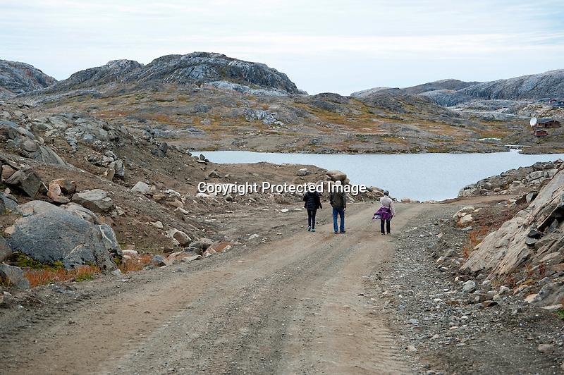Road to Kulusuk Greenland