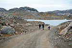 Road to Kulusuk Greenland
