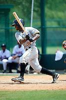 GCL Pirates Dilson Herrera #31 during a Gulf Coast League game against the GCL Braves at Wide World of Sports on July 16, 2012 in Orlando, Florida.  GCL Pirates defeated the GCL Braves  6-2.  (Mike Janes/Four Seam Images)