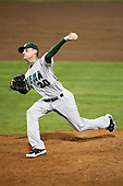 February 20, 2010:  Pitcher Jake Werdesheim (20) of the Siena Saints during the season opener at Melching Field at Conrad Park in DeLand, FL.  Siena defeated Stetson by the score of 8-4.  Photo By Mike Janes/Four Seam Images