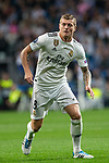 Toni Kroos  of Real Madrid during the match between Real Madrid vs Viktoria Plzen of UEFA Champions League, Group Stage, Group G, date 3, 2018-2019 season. Santiago Bernabeu Stadium. Madrid, Spain - 23 OCT 2018.