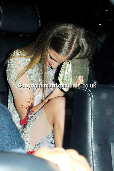NON EXCLUSIVE PICTURE: MATRIXPICTURES.CO.UK<br /> PLEASE CREDIT ALL USES<br /> <br /> WORLD RIGHTS<br /> <br /> Made In Chelsea reality television personality, Millie Mackintosh attending The BRIT Awards 2015 Warner Music Group afterparty, at The Freemasons' Hall in London. <br /> <br /> FEBRUARY 25th 2015<br /> <br /> REF: ASI 15640