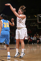 STANFORD, CA - FEBRUARY 4:  Jeanette Pohlen of the Stanford Cardinal during Stanford's 74-53 win over UCLA on February 4, 2010 at Maples Pavilion in Stanford, California.