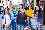 Ciara McPhilips, Sharon, Oisin and Jade O'Connor, Caohe Kelly, Saoirse Kelly, Elaine Cronin, Clíona O'Flaherty-Cahillane and Leah Cronin Beaufort at Puck Fair on Thursday