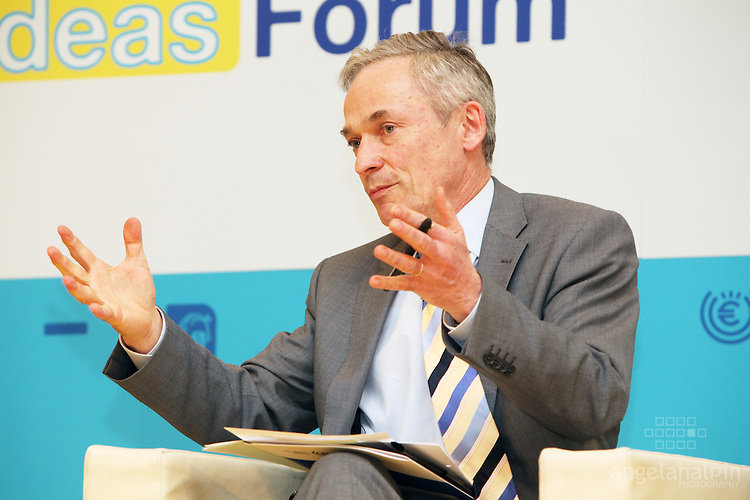 Richard Bruton speaking at the European Economic Forum - Dublin Castle - 19th & 20th April 2012