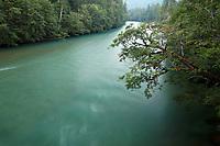 Skagit River, Newhalem, North Cascades, Washington State, USA