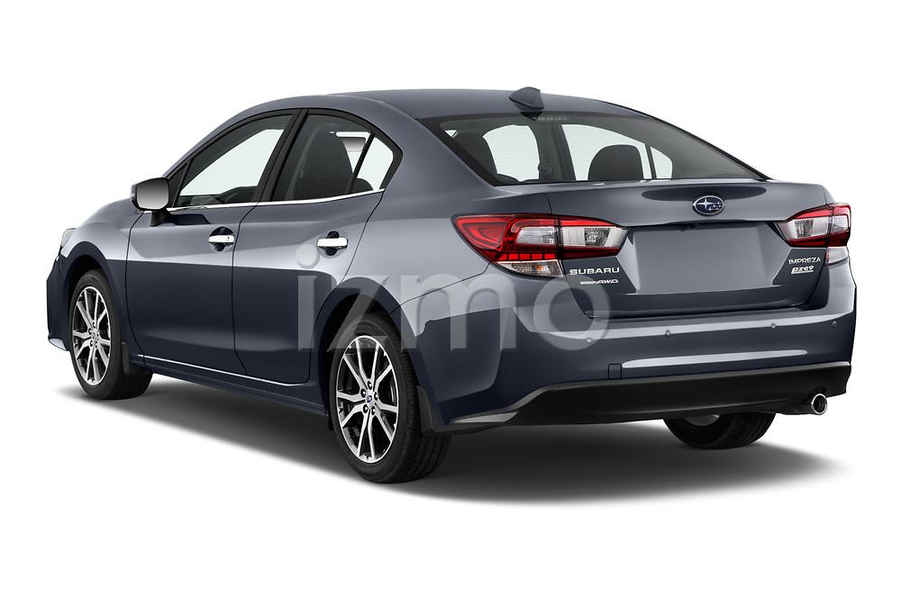 Car pictures of rear three quarter view of 2017 Subaru Impreza 2.0i-Limited-CVT-PZEV 4 Door Sedan Angular Rear