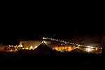 Silver mine at night, Pirquitas Mine, Abra Granada, Andes, northwestern Argentina