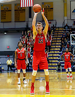 Stony Brook defeats UAlbany  69-60 in the America East Conference tournament quaterfinals at the  SEFCU Arena, Mar. 3, 2018.  Bryan Sekunda (#22).